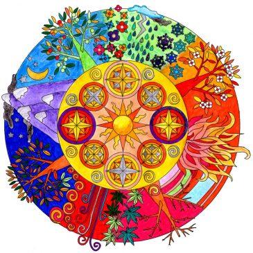 Música meditación con Mandalas