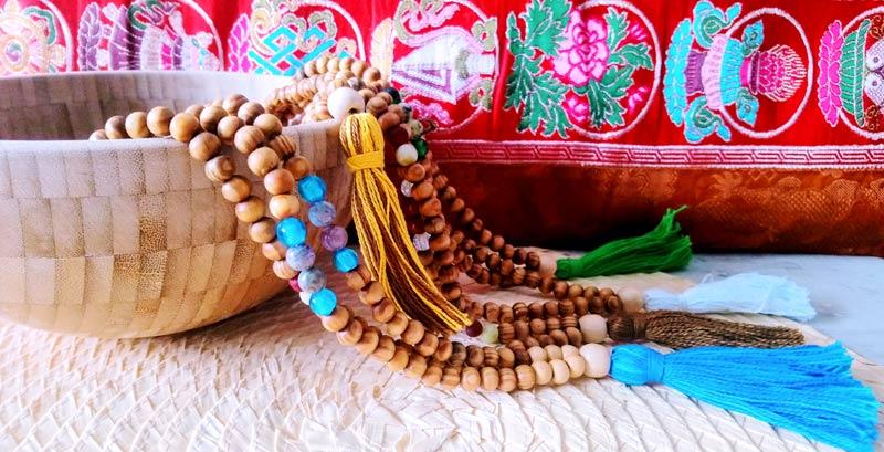 Malas- tibetanos-de piedras y cristal
