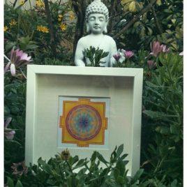 Mandala amarillo yantra indu