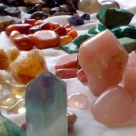 Piedras, gemas, cristales, mágicos
