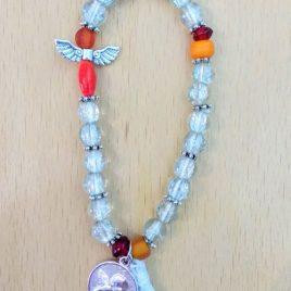 pulsera cristal craquelado arcangel uriel