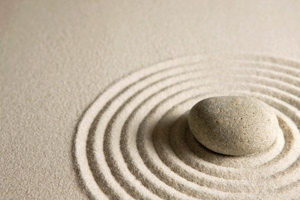 arena y piedra