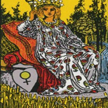 Arcanos mayores tarot (la Emperatriz)